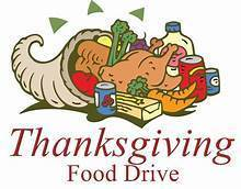 SVdP Youth group and Knights Of Columbus food drive