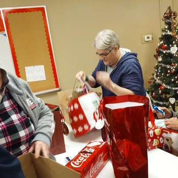 The SVDP Youth Group Hosted Christmas party