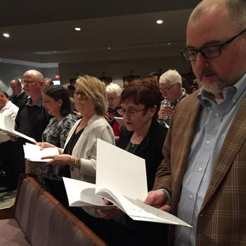 Catechumens and Candidates Attend Rite of Election