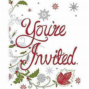 Christmas open house at the Rectory