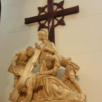 Bilingual Stations of the Cross