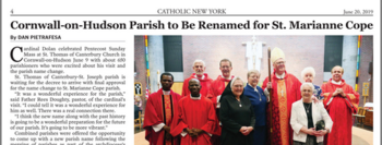Click here to read the Catholic New York article on the Cardinal's visit to our Parish!