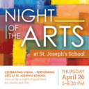 Night of the Arts & Grades 3-5 Concert - April 26th
