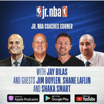 Shane Laflin featured on Jr NBA Podcast