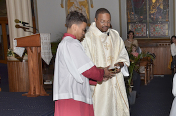 Youth Altar Server Training