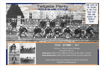 EVENT: Tailgate Party Hosted by the Alumni Association