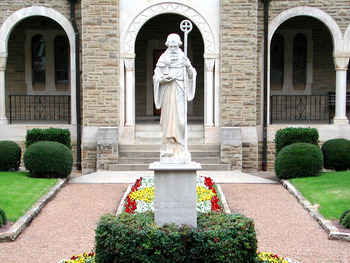 ARCHIVES: STATUE OF ST. BENEDICT