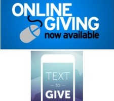 TEXT and ON-Line Giving