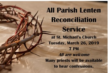All Parish Reconciliation Service (St Michaels)