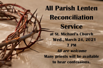 All Parish Reconciliation Service