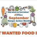 Most Wanted Food Items in September for Family Pathways!