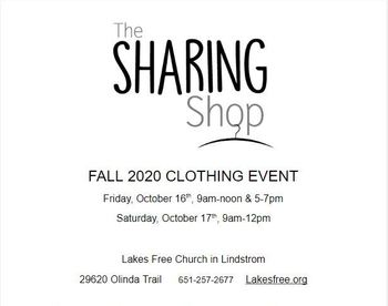The Sharing Shop is coming!