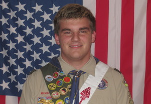 Congratulations to Eagle Scout Jonathan Reinhart