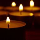 Memorial Candle For All Souls' Day