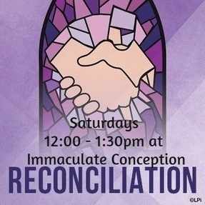 Confession at Immaculate Conception