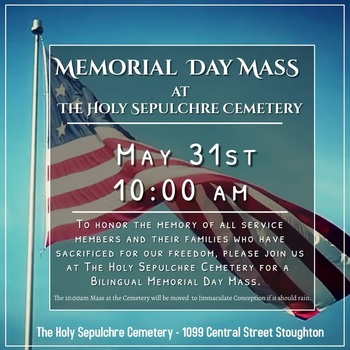 Memorial Day Mass at The Holy Sepulchre Cemetery