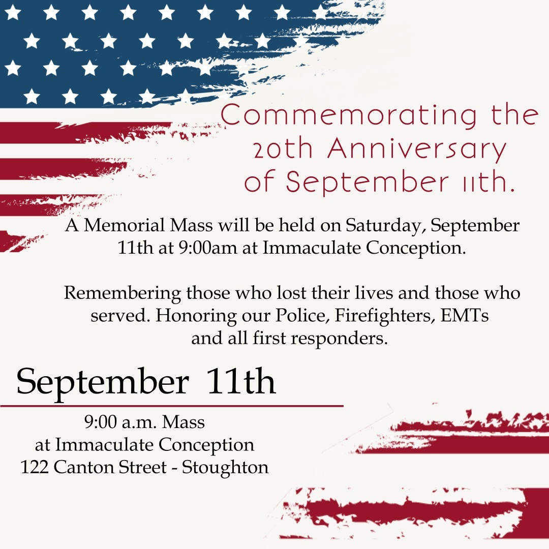 Commemorating the 20th Anniversary of September 11th