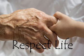 Respect Life-Rosary at Holy Sepulcher Cemetery