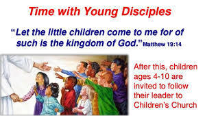 Children's Liturgy of the Word during Sunday 11:00am Mass