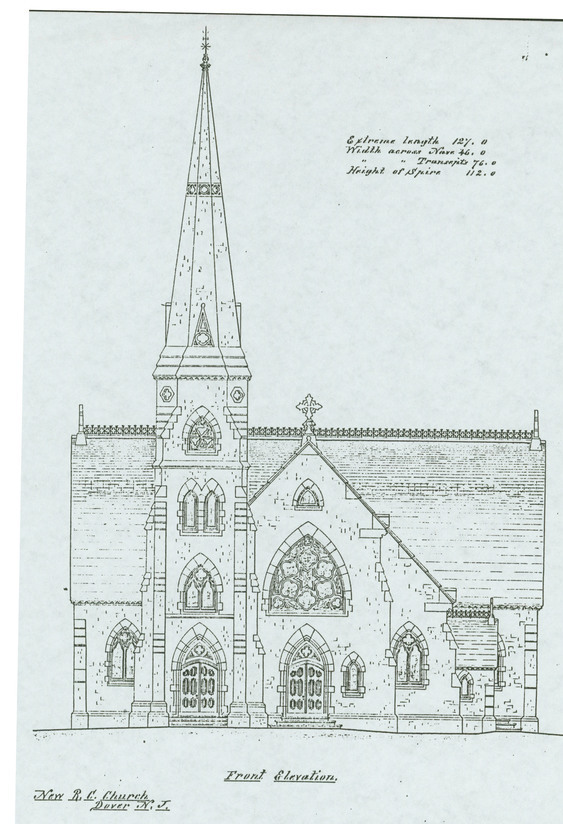 Original Architectural Design for Current Church