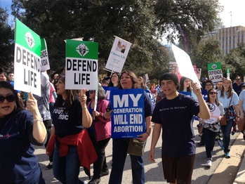 Texas Rally for Life