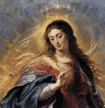 DECEMBER 8 - Solemnity of the Immaculate Conception of the Blessed Virgin Mary