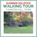 Walking Tour of Cannon Hill Park - Thursday, June 21, 6:00 p.m.