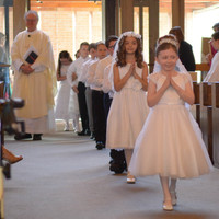 First Communion and May Crowning photos