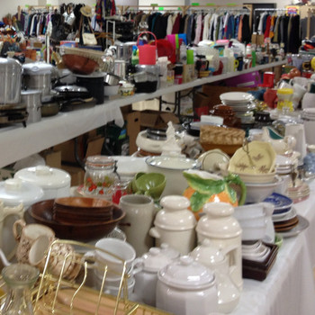 Rummage Sale month is here