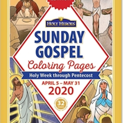 Sunday Gospel Coloring Pages