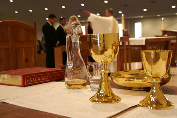 Celebration of First Eucharist