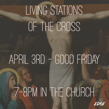 Living Station of the Cross
