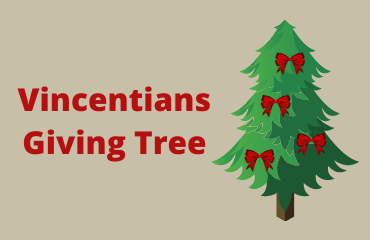 Vincentians Giving Tree Thank You