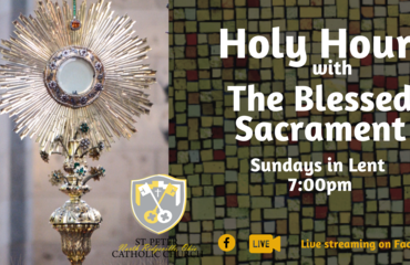 Holy Hour During Lent