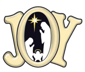 SW- JOY Nativity Car Magnet